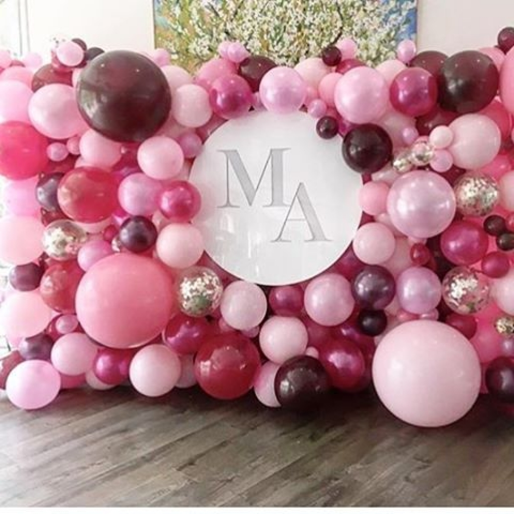 Balloon Wall Decoration Party Balloon Decor Baby Shower Balloons Liverpool, Wirral, Maghull, Kirkby, Southport, Ormskirk