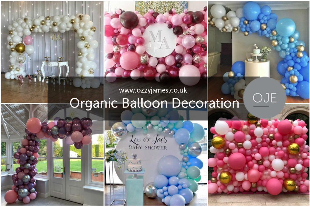 Organic Balloon Decoration Liverpool Wirral Cheshire