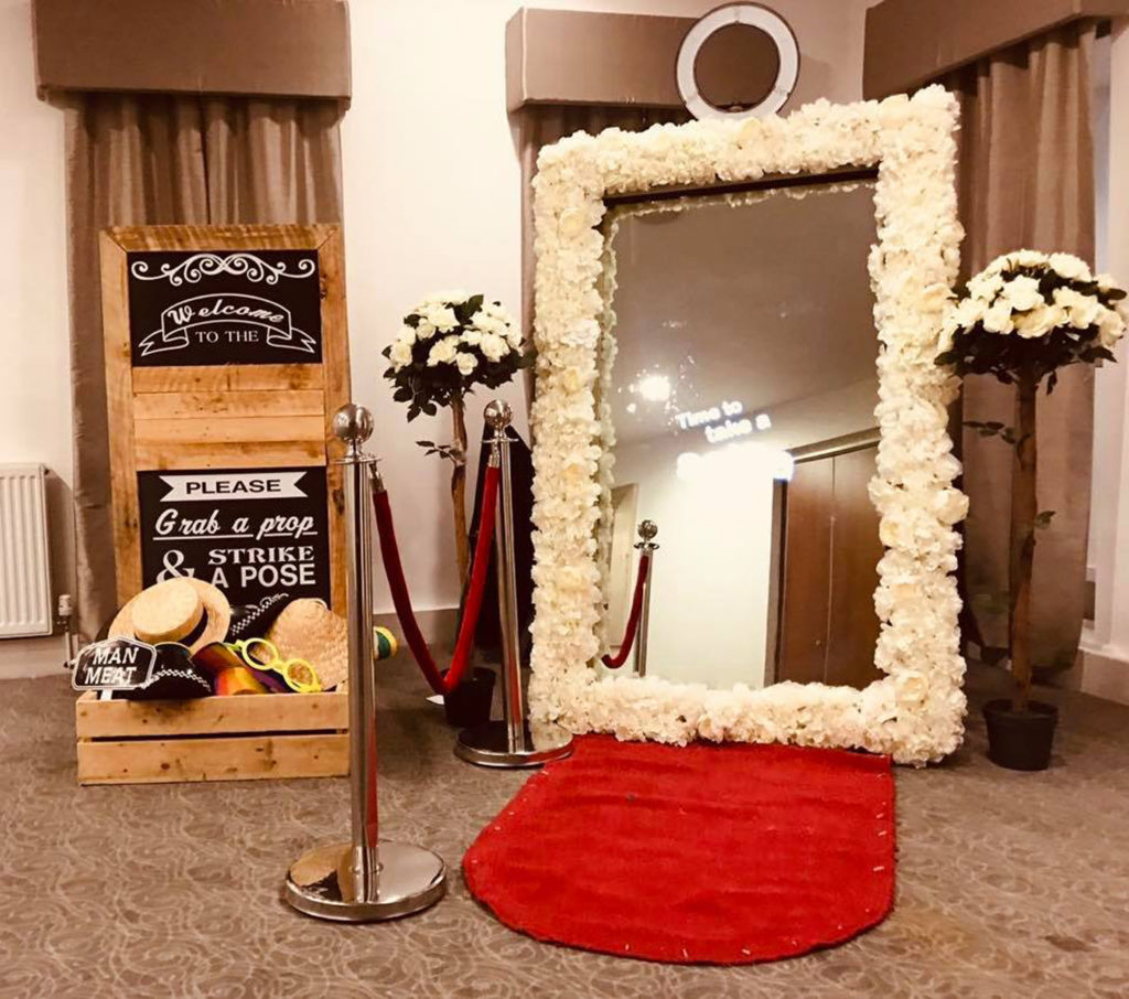 Magic Selfie Photo Mirror Hire - LIverpool, Wirral, Warrington, Widnes, Cheshire, Manchester - Ozzy James Events