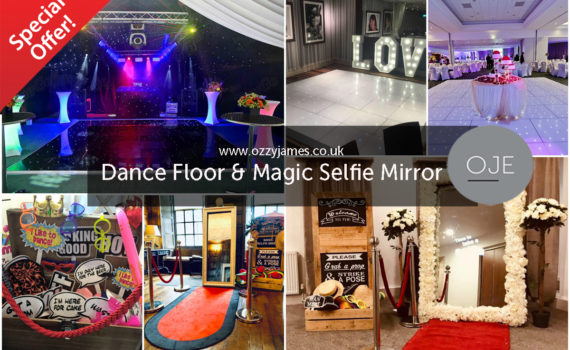 LED Dance floor Special Offer, LED Dance Floor Hire - Liverpool, Warrington, Wirral, Widnes, Cheshire - Ozzy James Events