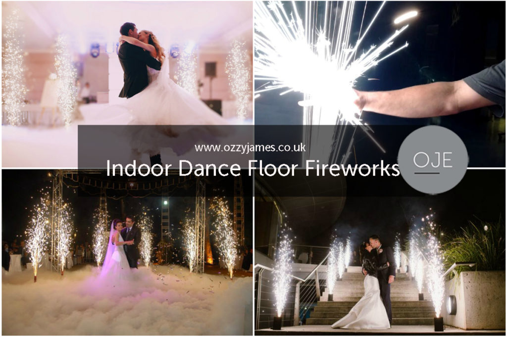 Dance Floor Fireworks, Indoor Fireworks, Liverpool, Cheshire, Warrington, Widnes, Wirral - Ozzy James Events