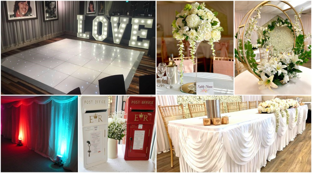 Complete Wedding Venue Dressing PAckages Liverpool, Cheshire, Wirral, Widnes, Warrington - Ozzy James Events