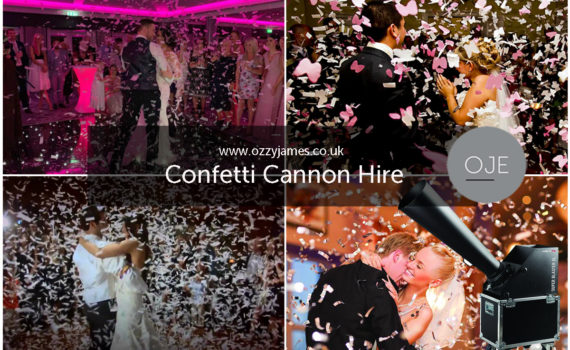 Confetti Cannon Hire, Liverpool, Wirral, Cheshire, Warrington - Ozzy James Events