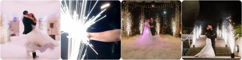 Dance Floor Fireworks, Indoor SFX Fireworks, Liverpool, Wirral, Warrington, Wirral, Cheshire, Manchester - Ozzy James Events