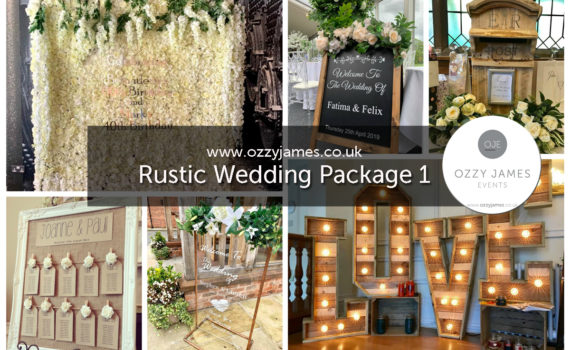 Rustic Wedding Packages In Liverpool, Wirral, Widnes, Cheshire, Warrington, Lancashire - Ozzy James Events