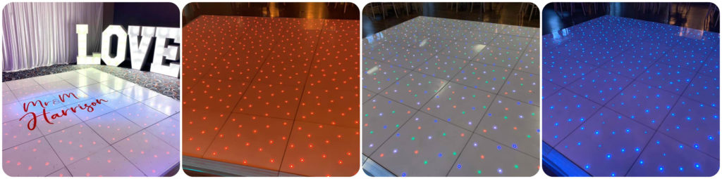 LED Dance Floors For Hire In Liverpool, Wirral, Widnes, Warrington, Cheshire, Southport - Ozzy James Events
