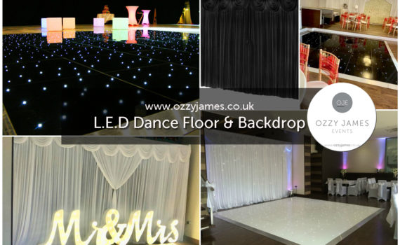 Cheap Dance Floor Hire, Liverpool, Wigan, Widnes, Warrington, Wirral, Cheshire - Ozzy James Events