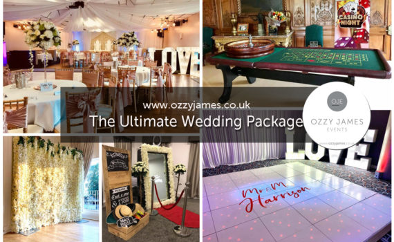 Wedding Package Deals Wedding Package Offer, Liverpoo, Warrington, Cheshire, Wirral, Widnes - Ozzy James Events