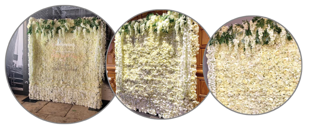 Flowerwall Flower Wall Hire Liverpool, Wirral, Warrington, Widnes - Ozzy James Events