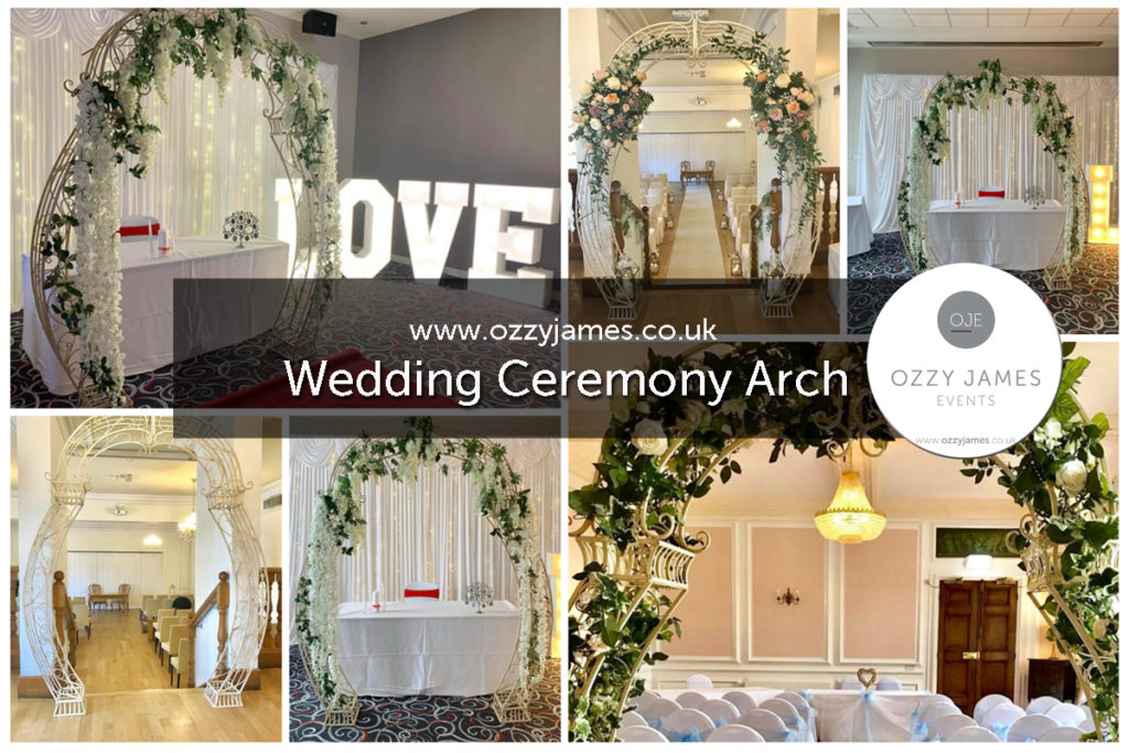 wedding ceremony floral arch hire wedding arch hire liverpool, cheshire, wirral, manchester