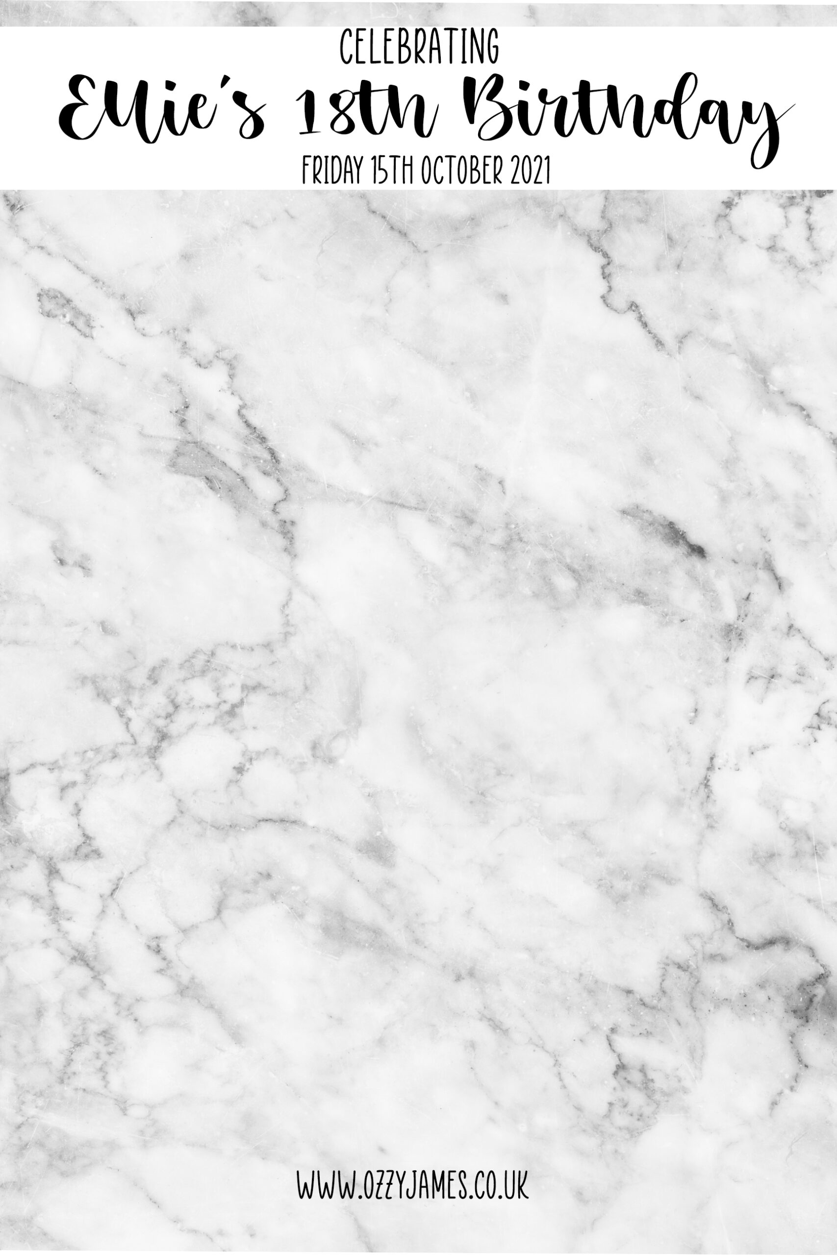 marble template